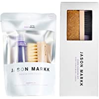 Jason Markk Premium Shoe Cleaner and Suede Cleaning Kit (Bundle)