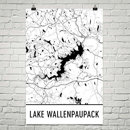 "Lake Wallenpaupack Pennsylvania, Poconos, Scranton PA, Wilkes-Barre, Lake Wallenpaupack PA, Pennsylvania Art, Pennsylvania Decor Poster 12""x18"""