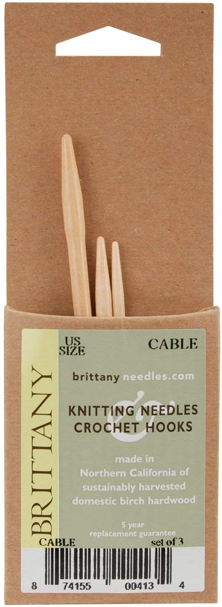 Brittany Cable Needlesnatural1 Pack