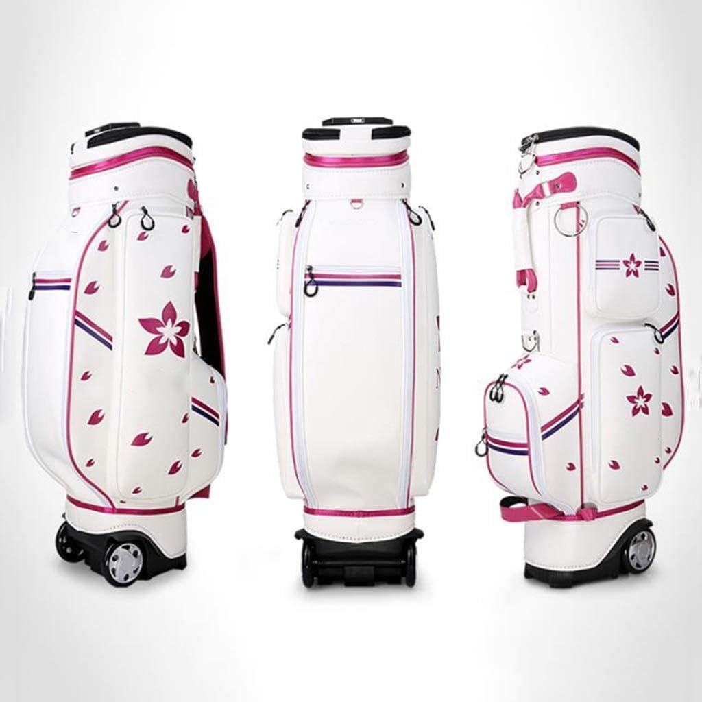 ゴルフテレスコピックバッグ、100%防水、マルチカラーオプション、126×25×42cm happyL (Color : B) B