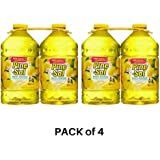Pine-Sol, Multi-Surface Disinfectant Lemon Scent - PACK of 4