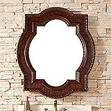 James Martin Castilian 35'' Mirror in Aged Cognac