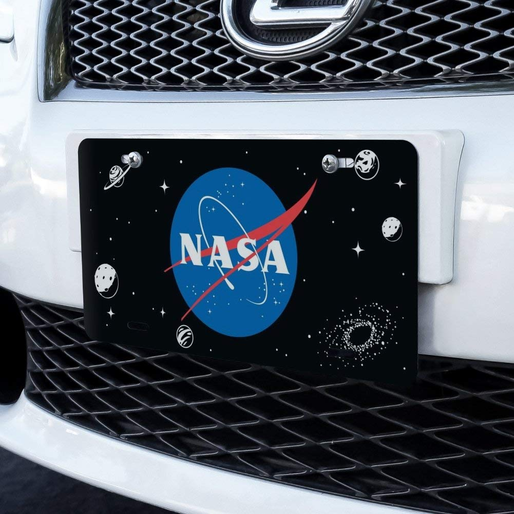 GRAPHICS /& MORE NASA Official Meatball Logo Novelty Metal Vanity Tag License Plate