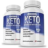 Euphoria Nutrition Ultra Premium Keto Pills - Pure Keto - Keto Diet - Ketosis Supplement for Women and Men - Keto Capsules - Great Keto Diet Pills - May Boost Energy - Metabolism (2 Pack: 1600mg)