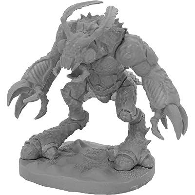 Reaper Miniatures Burrowing Behemoth #44058 Bones Black Unpainted Plastic Figure: Toys & Games