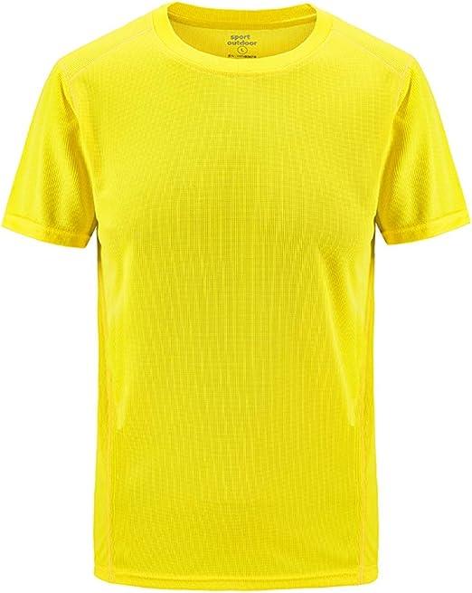 Overdose Camiseta de Manga Corta para Hombres Camisas Casuales al Aire Libre clásicas Talla Grande Deporte Blusas Transpirables de Secado rápido Blusa Adolescente Delgada Suave: Amazon.es: Ropa y accesorios