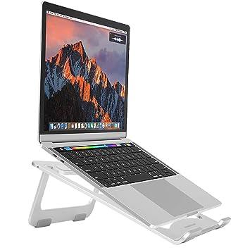 snaideal Lightweight Aluminio Portable Soporte para portátil para MacBook, MacBook Pro, Microsoft Surface Pro y más (Plata): Amazon.es: Juguetes y juegos