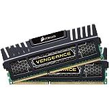 CORSAIR CMZ16GX3M2A1600C9 Vengeance Desktop Memory, 8GB Kit, 2 count