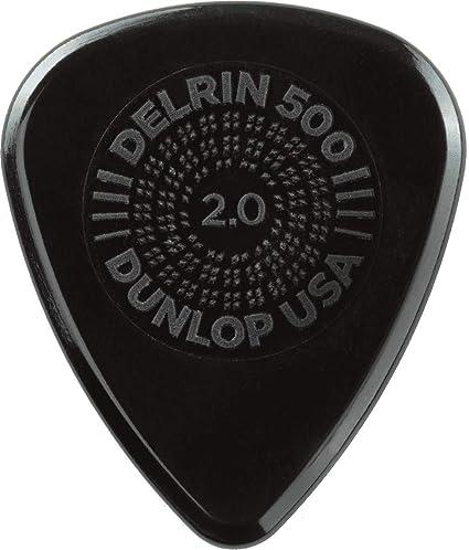 2.0 mm Bag of 12 Dunlop Delrin 500 Picks