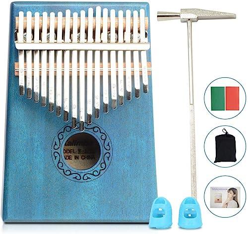 Apelila 17 Key Kalimba Thumb Piano