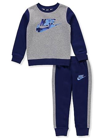 promo code bbc04 e03c7 Nike Boys  2-Piece Sweatsuit Pants Set - Blue, ...