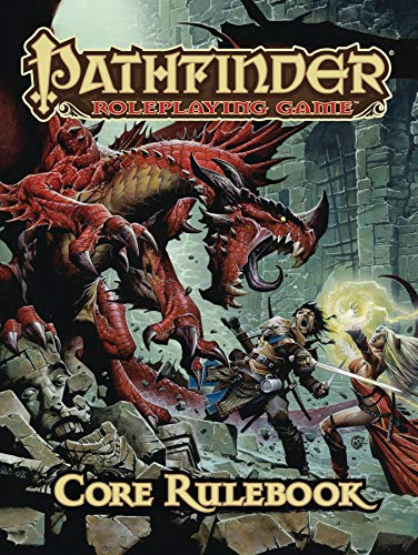 Pathfinder Roleplaying Game: Core Rulebook (Best Tabletop Role Playing Games)
