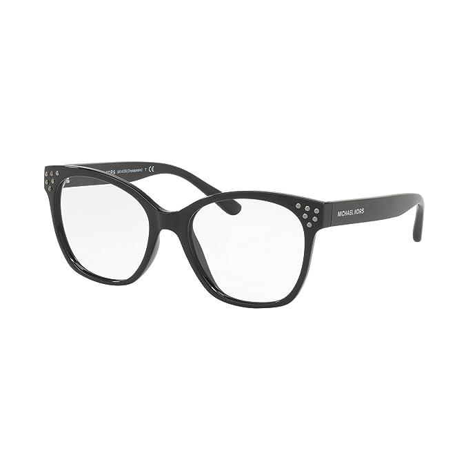 Michael Kors 0MK4055, Monturas de Gafas para Mujer, Black, 52