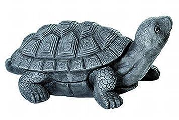 Casablanca - Objeto, escultura,, - - Decoración Tortuga - Magnesia - Longitud: 55 cm - En De y apto para exterior: Amazon.es: Jardín