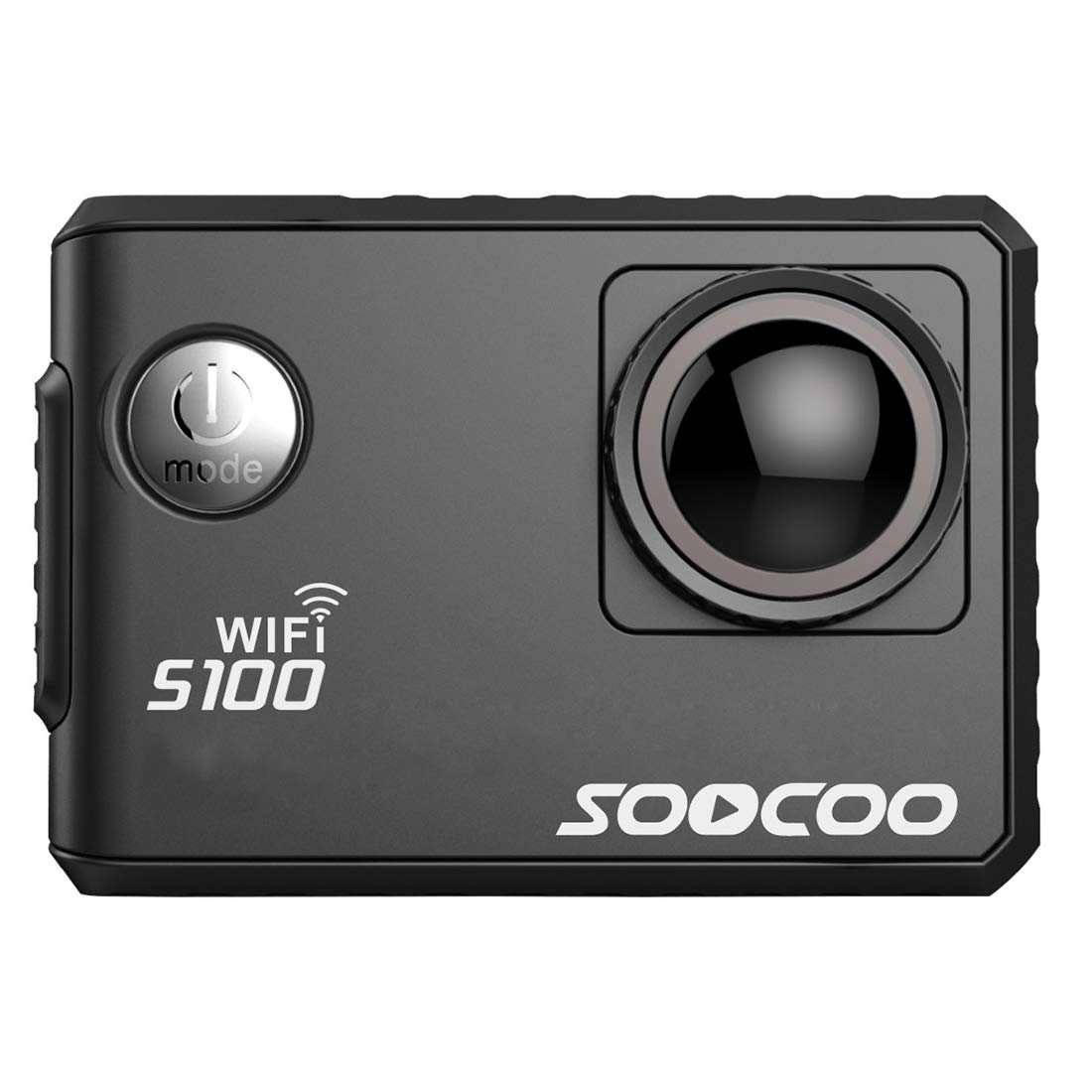 Underwater Photography Sports Camcorders, SOOCOO S100 2.0 inch Screen 4K 170 Degrees Wide Angle WiFi Sport Action Camera Camcorder with Waterproof Housing Case, Support 64GB Micro SD Card & Diving Mod by Cqu