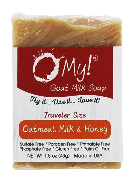 Viajero cabra leche jabón avena, leche & miel - 1