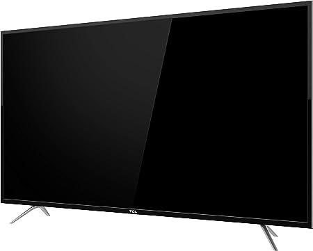 TCL 50DP602 Televisor de 50 pulgadas, Smart TV con UHD 4K, HDR, Dolby Digital Plus, T-Cast y sintonizador Triple, Color Negro: Amazon.es: Electrónica