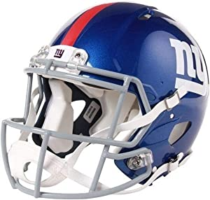 Riddell NFL New York Giants Speed Authentic Football Helmet