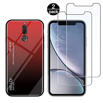 Funda para Huawei Mate 10 Lite + [2 Pack] Protector Pantalla ...