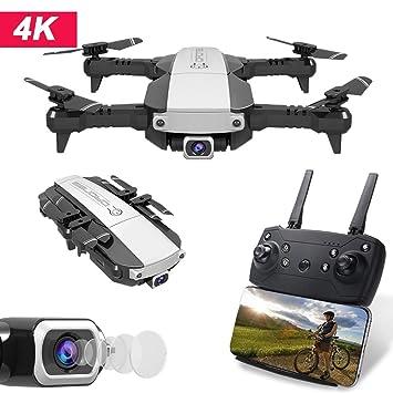 Goolsky H3 RC Drone con Cámara 4K WiFi FPV Flujo óptico ...