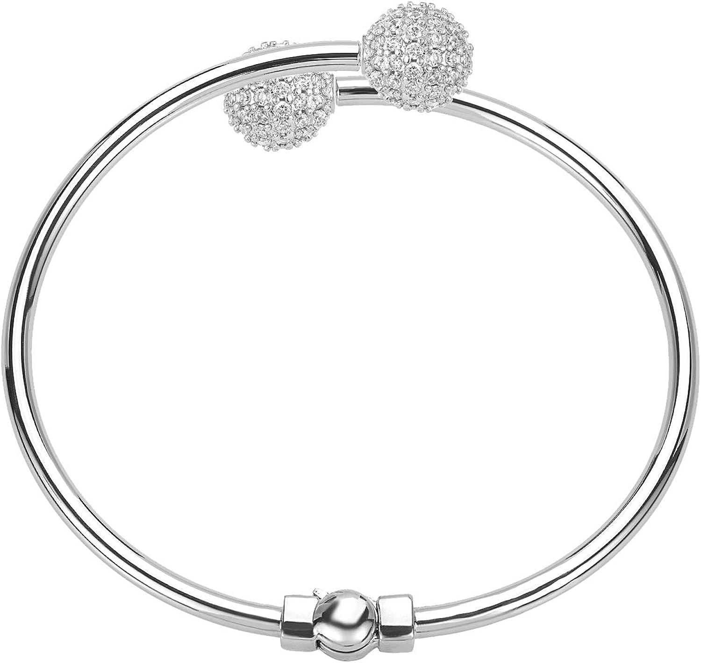 DBW Jewelry Silver Bangle...