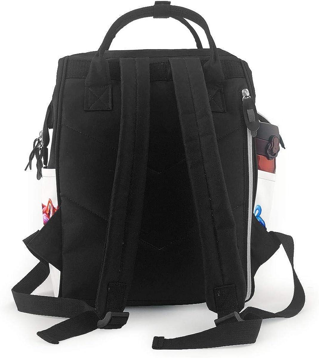Ice Fire Wolf Multifunctional Bundle Backpack Shoulder Bag For Men And Women