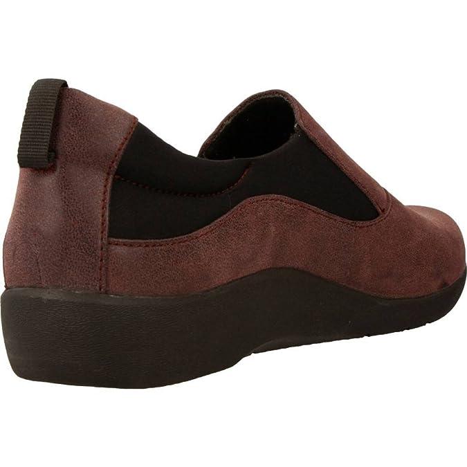 Clarks 2093-34D Sillian Paz Aubergine Womens Comfort Shoes: Amazon.co.uk:  Shoes & Bags