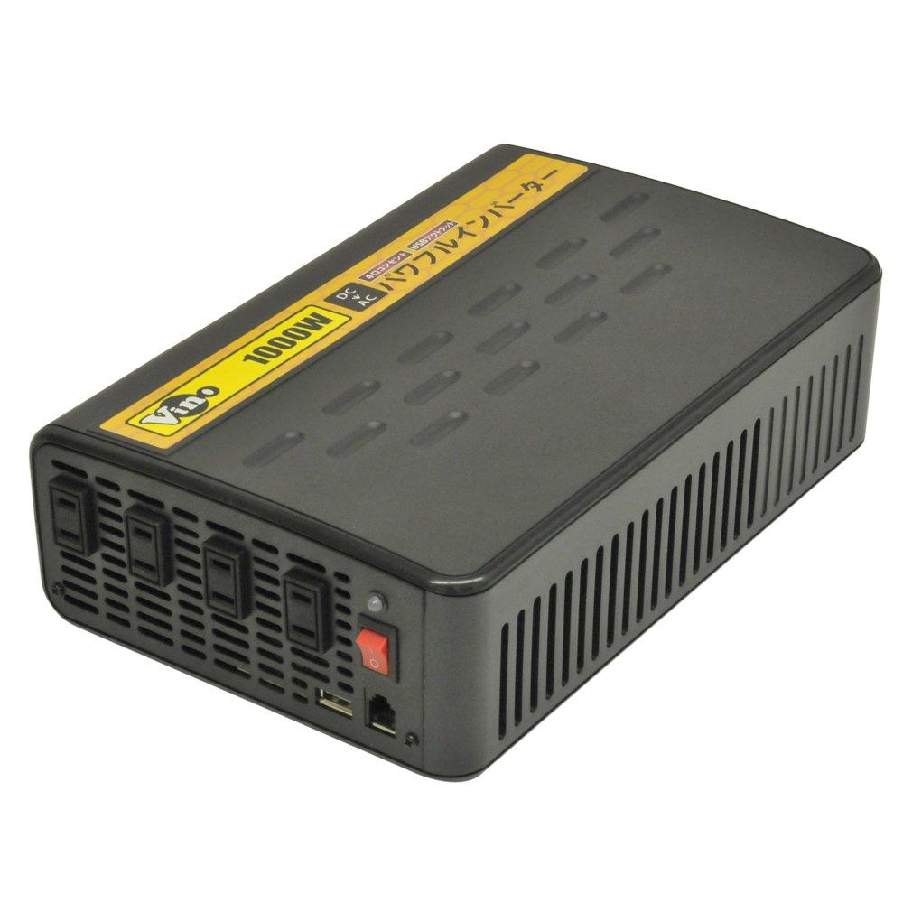 Vino(ヴィノ) 疑似正弦波インバーター 出力1000W/12V 周波数55Hz PE1000-112 B00L0PYDZM