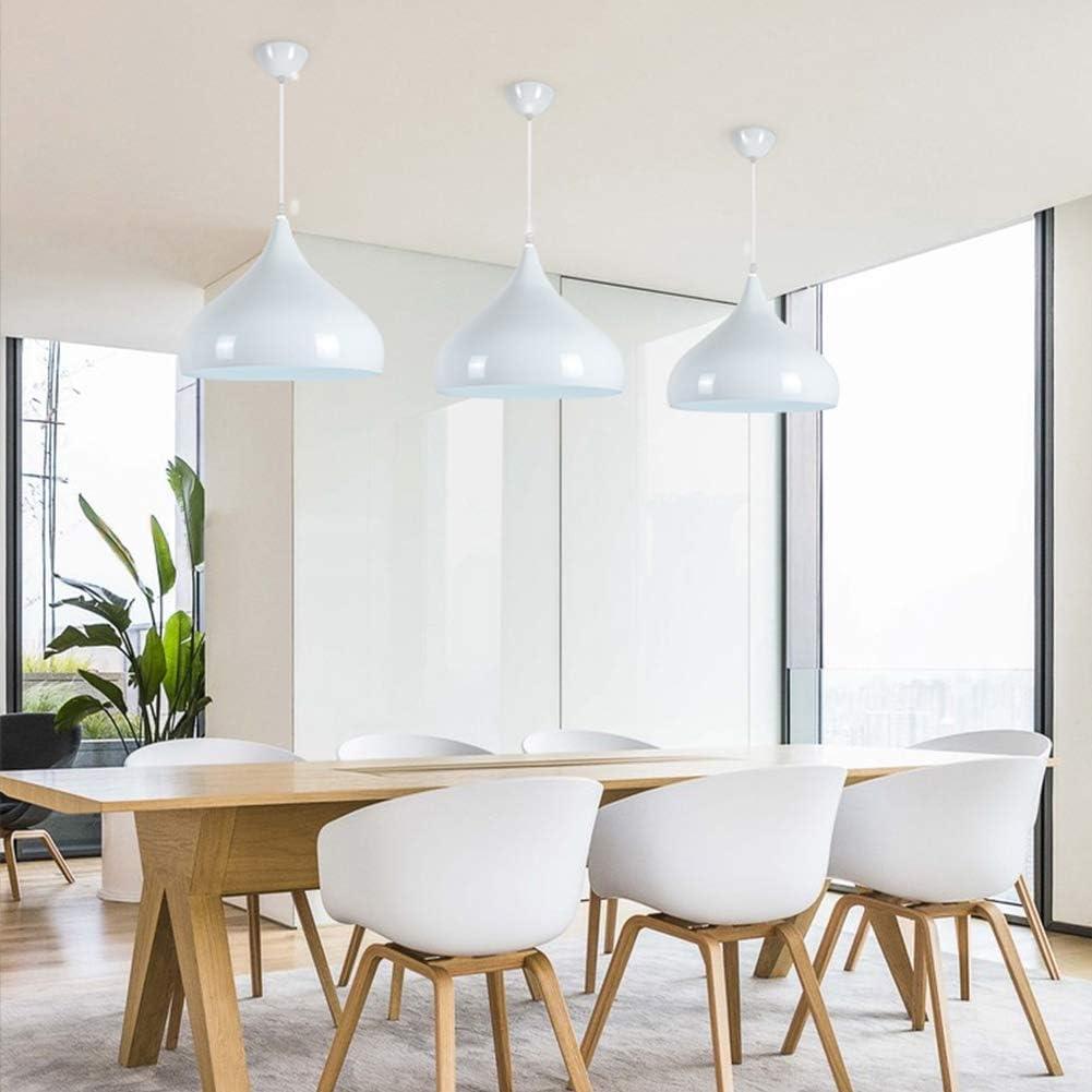 17x12inch CUICANH Moderne Couleur T/ête simple Suspensions,Nordique Simple Personnalit/é Light fixtures Pour Restaurant Bar Bureau-gros-rouge 42x30cm