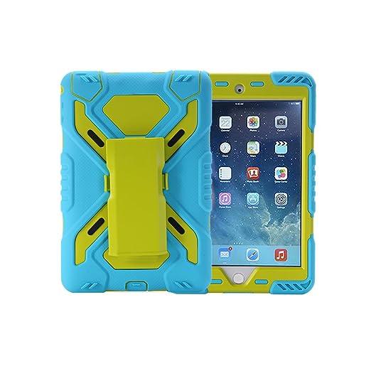 4 opinioni per Custodia per iPad Air 2, iPad Air 2in silicone + PC + pet protezione per
