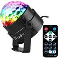 Zanflare Luces de la Etapa con control remoto, 7 modos de colores de iluminación luces de etapa para Fiestas, Bar, Cumpleaños.
