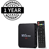 Suroskie MXQ Pro 4k Android TV Box with Smart Multimedia Gateway Internet & Advanced Features Supports