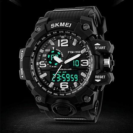 learnarmy Herren LED Digital Alarm Datum Military Sports Army Wasserdichte Quarz - Uhr