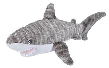 Amazon Com Wild Republic Tiger Shark Plush Stuffed Animal Plush