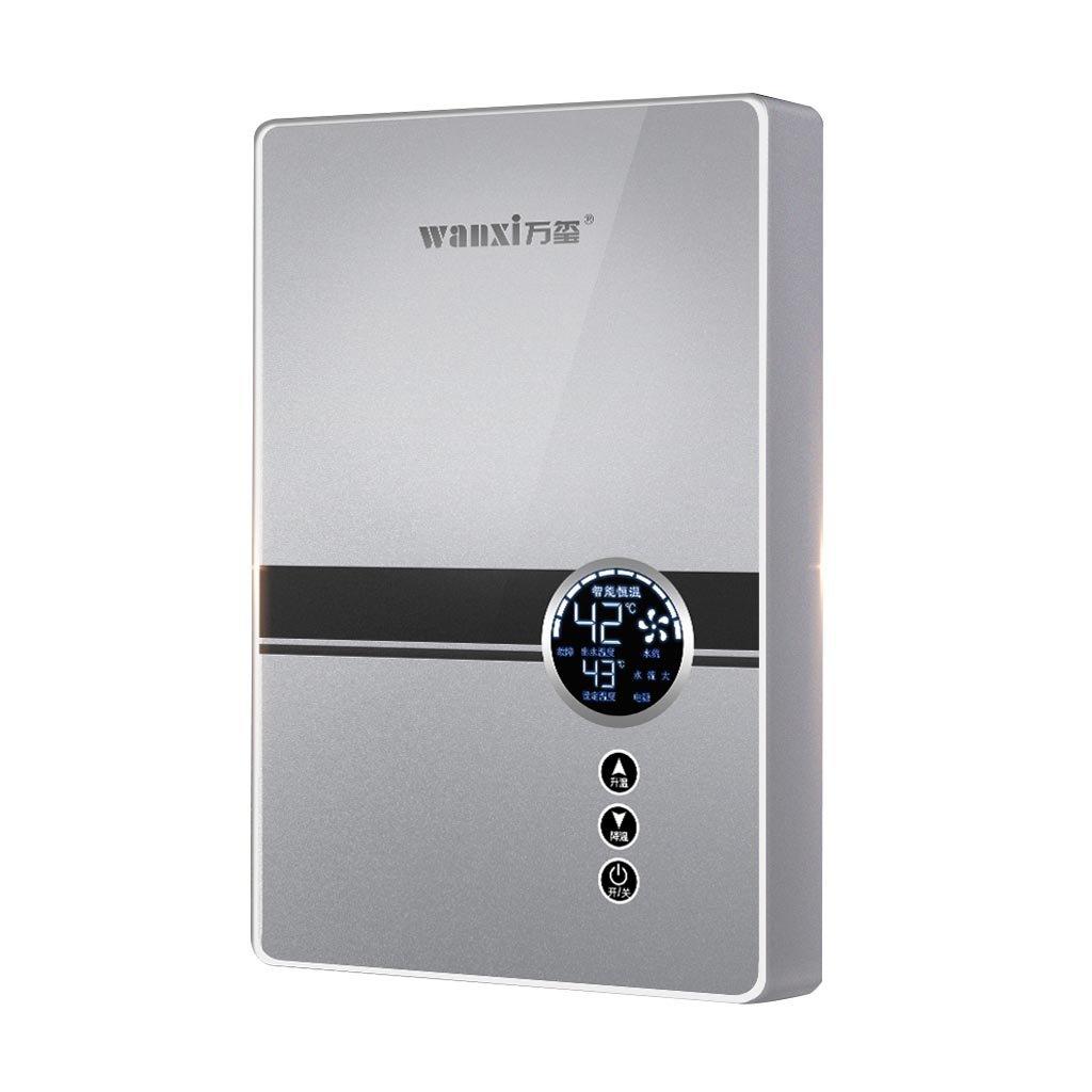 XIAO J Calentador de agua eléctrico instantáneo, termóstato ...