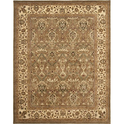 Safavieh Persian Legend Collection PL819A Handmade Traditional Light Green and Beige Wool Area Rug (7