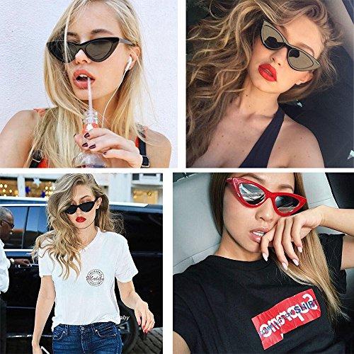 Femmes Yeux Lunettes Plaisir BLDEN Lunettes de B Mode Vintage Soleil GL1002 Retro pour Style Chat B de pour wqpItpBn