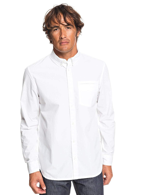 Blanc - Bright blanc M Quikargent Ostalamer - Chemise Manches Longues pour Homme EQYWT03806