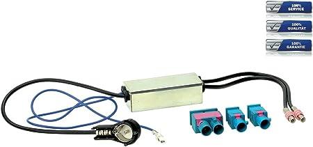 Adaptador de antena ISO a 2 x Fakra Individual o Doble de ...