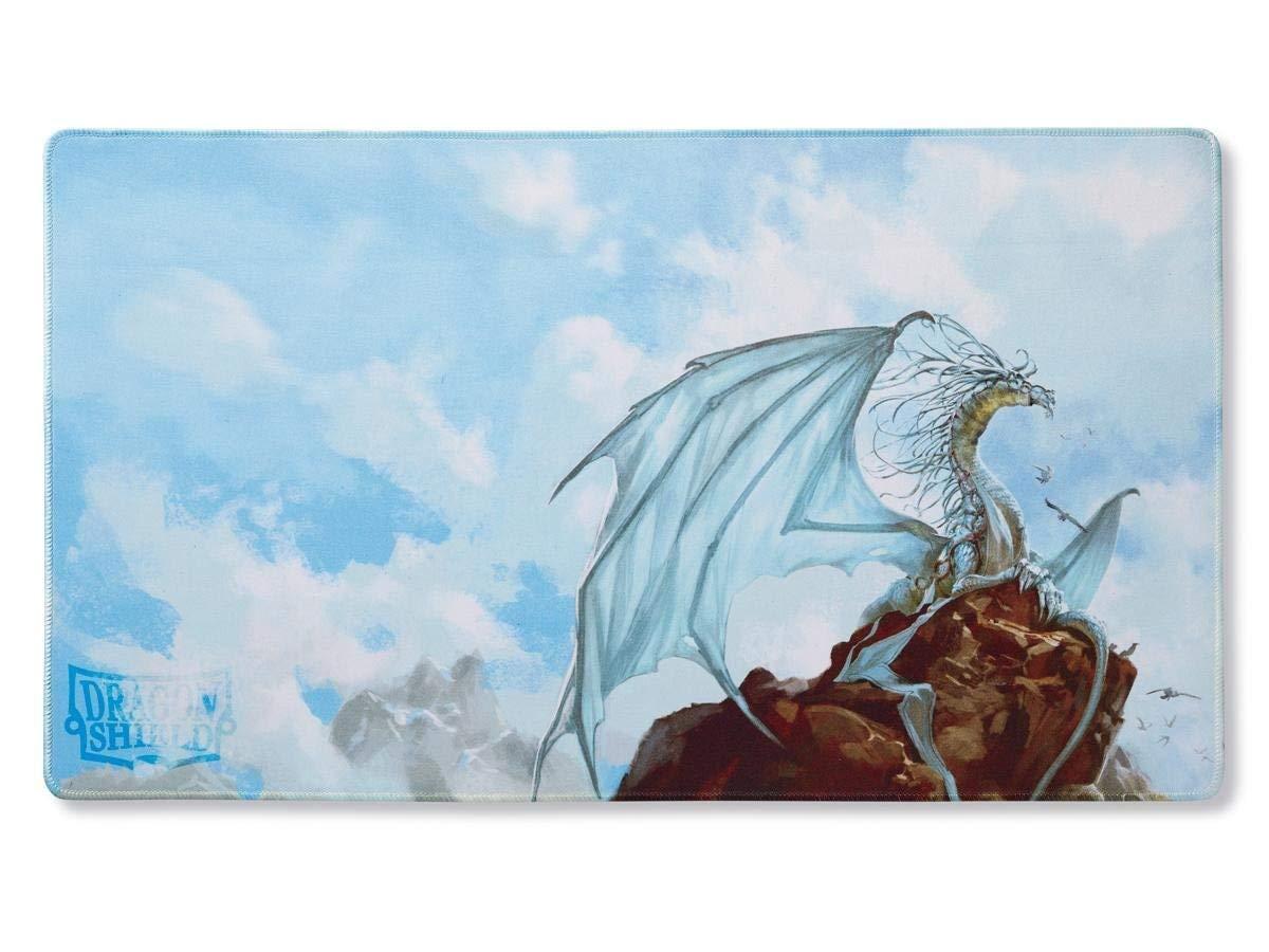 Arcane Tinmen ApS ART21508 Dragon Shield: Spielmatte-Art-Silver limitiert-Caelum, Mehrfarbig