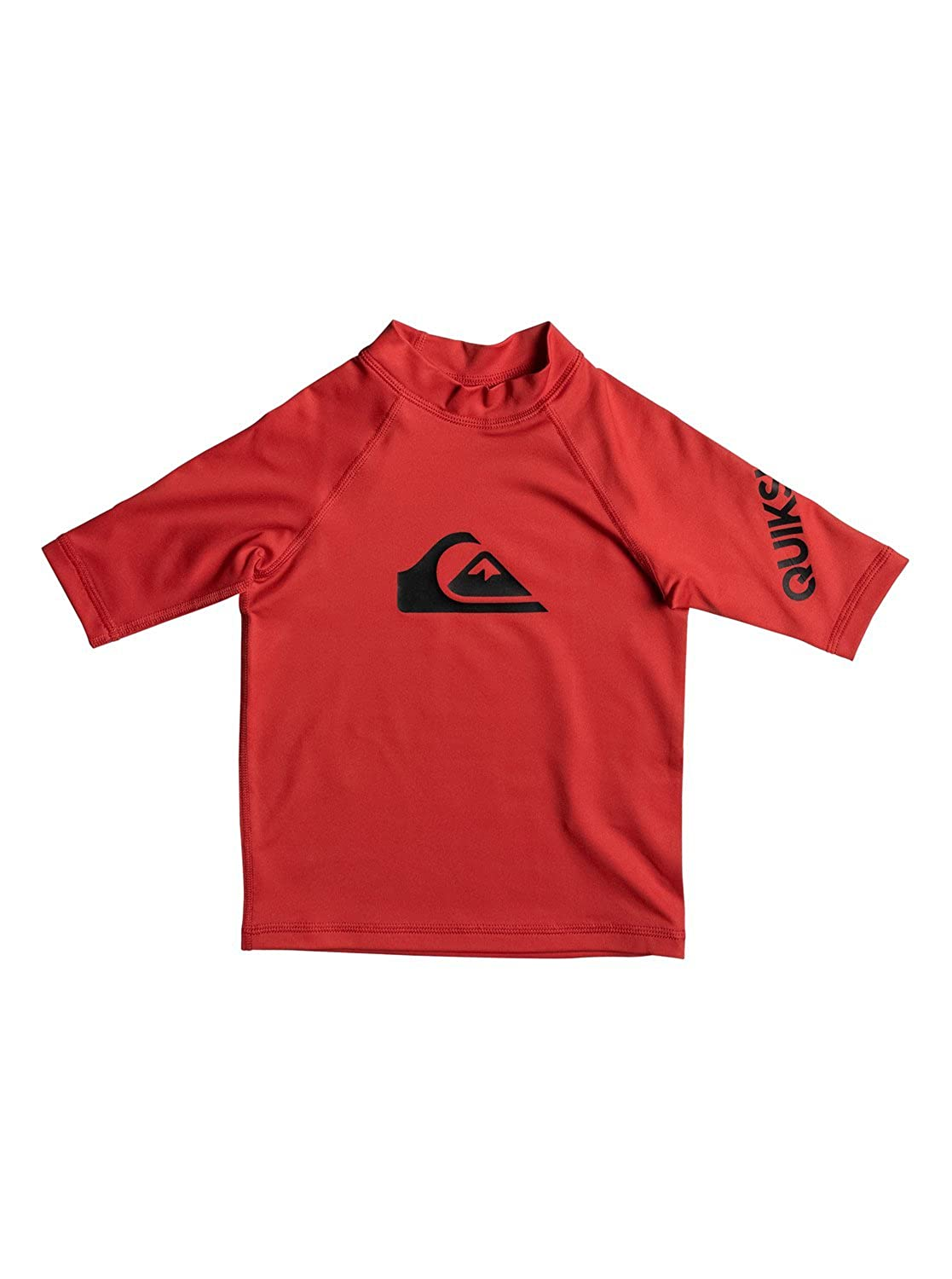 Quiksilver Boys All Time - Short Sleeve Upf 50 Rash Vest Short Sleeve Upf 50 Rashguard EQKWR03019