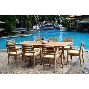 61rOZTasBSL._SS300_ Teak Dining Tables & Teak Dining Sets