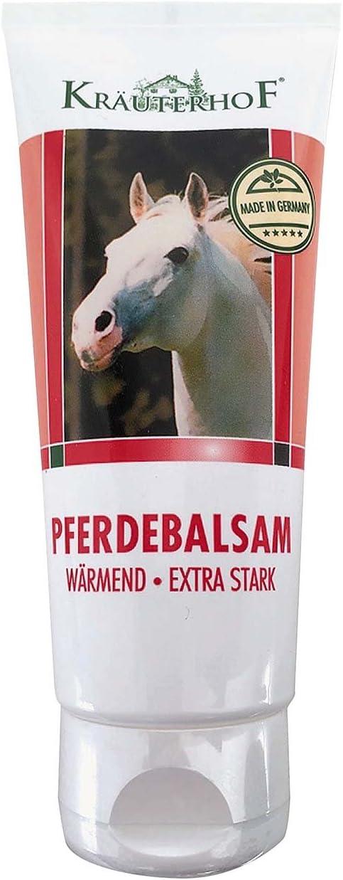Kräuterhof Bálsamo de caballos gel de calentamiento extra fuerte tubo de 100 ml