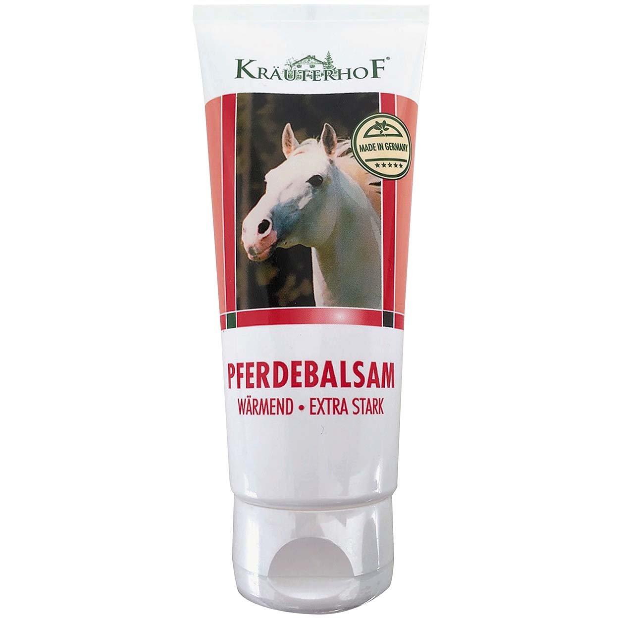 Kräuterhof Balsamo del cavallo gel riscaldante extra forte 100ml Wundmed