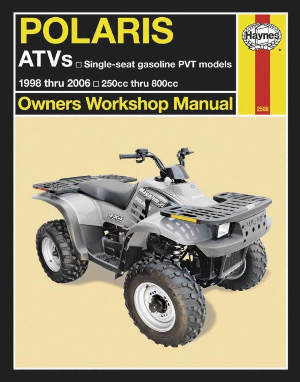 Haynes Atv Manual Polaris M2508 0038345025082 Books Magnum 425 Engine Diagram