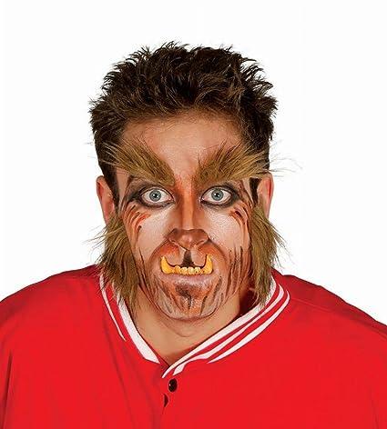 Patillas y Cejas de Hombre Lobo