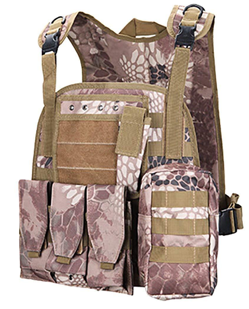 ThreeH Cumplimiento de la Ley Chaleco t/áctico Militar Paintball Gear Equipo de Proteccion Prenda SA0103A