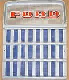 C9NN8A163AG & D1NN8151A 2Pc Top and Bottom Grill for 2/1971 to 1975 2000 3000 4000 5000 Tractors
