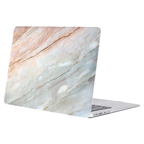 MOSISO Funda Dura Compatible MacBook Air 13 Pulgadas (A1369 / A1466, Versión 2010-2017), Ultra Delgado Carcasa Rígida Protector de Patrón de Plástico ...