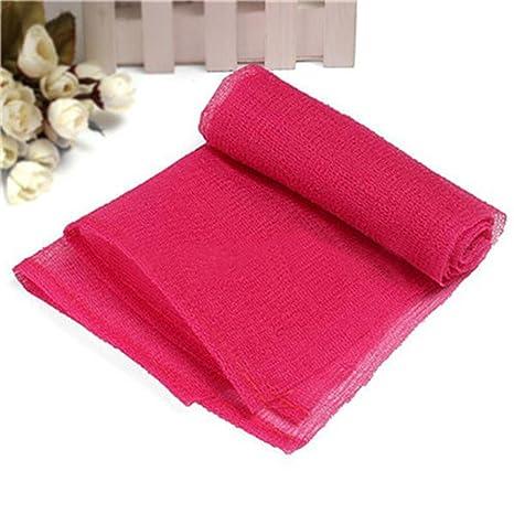 DingXinZM Toallas de baño de malla de nailon para limpiar el cuerpo de la ducha,